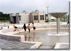 とおや恵公園噴水,北海道,おすすめ,じゃぶじゃぶ池