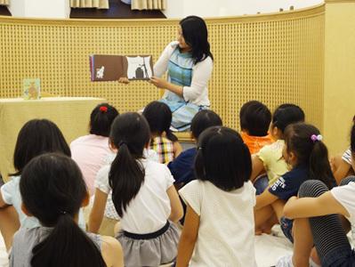 おはなし会,国際子ども図書館,読書,絵本