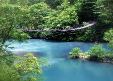 寸又峡 夢の吊橋,吊り橋,ドキドキ,チャレンジ