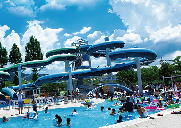 亀岡運動公園プール,夏休み,プール,京都