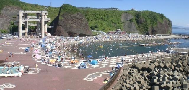 元和台海浜公園「海のプール」,子ども,北海道,海水浴