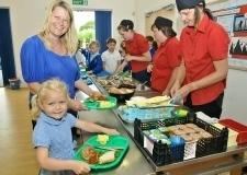 学校給食,イギリス,親子,留学