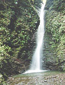 葛布(かっぷ)の滝,東海,滝,観光