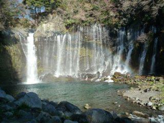 白糸の滝,東海,滝,観光