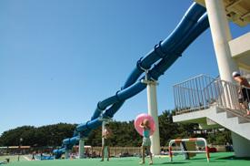 辻堂海浜公園 ジャンボプール,神奈川,プール,ウォータースライダー
