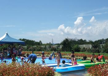 はままつフラワーパーク水遊び,じゃぶじゃぶ池,静岡県,おすすめ