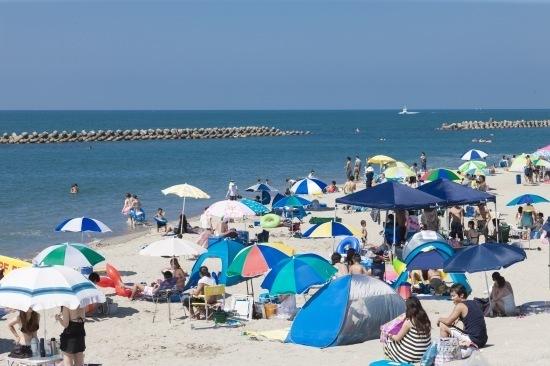 青山海岸海水浴場,新潟県,海水浴場,おすすめ