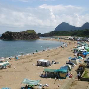 後ヶ浜海水浴場,京都,海,温泉