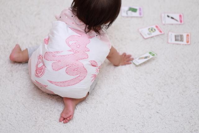 一升餅を背負う赤ちゃん,1歳児,