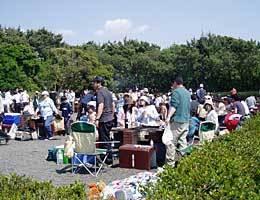 稲毛海浜公園,海水浴場 ,バーベキュー,関東