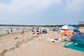 海の公園,神奈川県,海水浴場,おすすめ