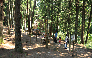 大亀山森林公園キャンプ場,宮城県,雨,バーベキュー