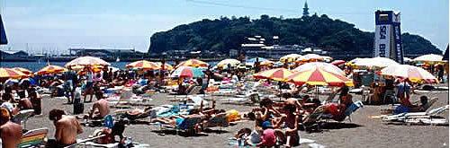 江ノ島東浜ビーチ,海水浴場,駅近,子連れ