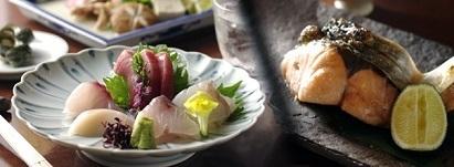 刺身と焼き魚,築地市場,子連れランチ,新鮮