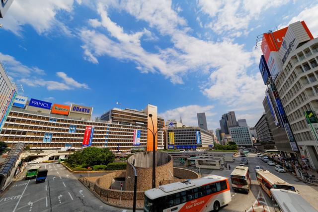 ,新宿,おすすめ,デパート屋上