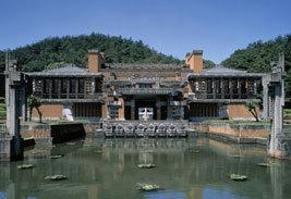 明治村帝国ホテル玄関部,体験学習,愛知県,おでかけ