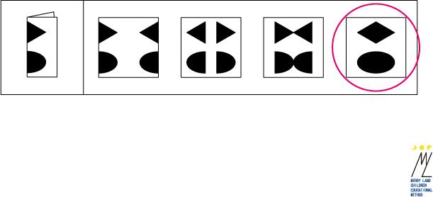 折り紙図形解答1,小学校受験,知能,テスト
