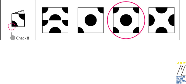 折り紙図形解答2,小学校受験,知能,テスト