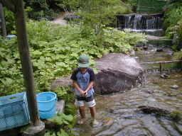 したらの里,愛知県,川遊び,魚つかみ取り