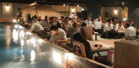 ざうおの店内,釣った魚,神奈川,アウトドア