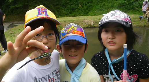 生きもの探検隊,子ども,キャンプ,自然体験