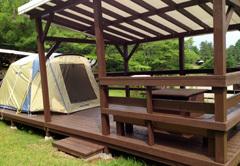 パディントンベアキャンプグラウンドのキャンプ画像,神奈川,キャンプ場,