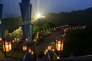 竜神峡 灯ろうまつり,竜神峡,茨城県,子ども
