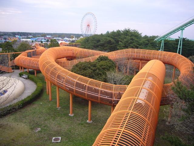 おもしろチューブ,外遊び,ひたち海浜公園,茨城