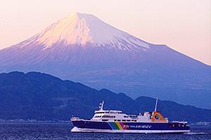 駿河湾フェリー,静岡,遊覧船,海