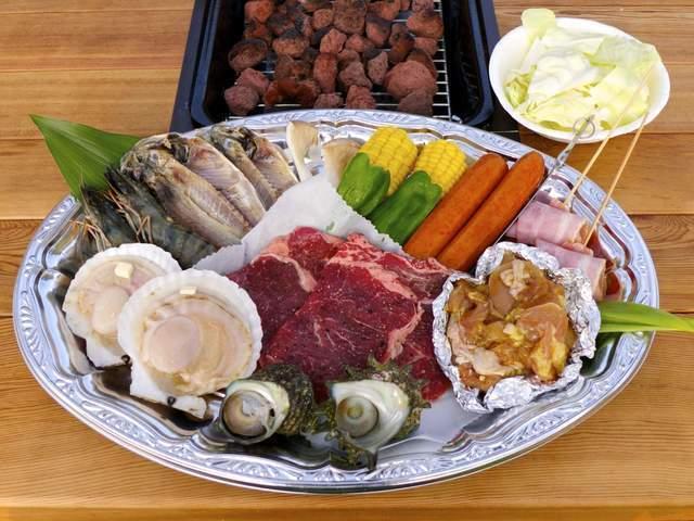 伊豆白浜バーベキューガーデン食材,静岡県,手ぶら,バーベキュー