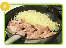 フライパンで材料を炒める,レシピ,サンドイッチ,行楽弁当
