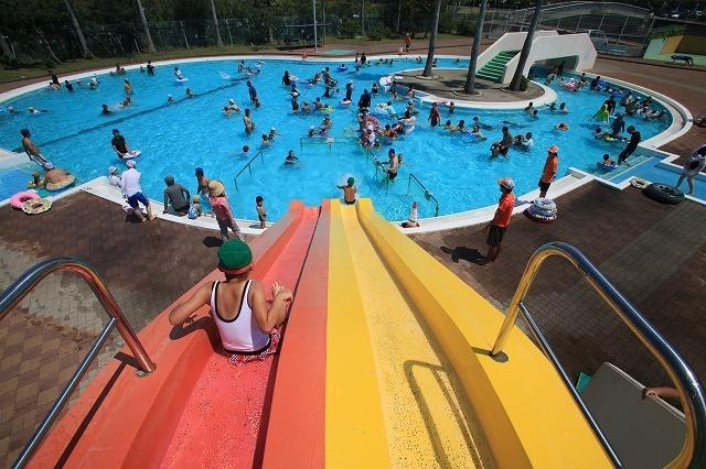 竜洋海洋センタープール,夏休み,家族旅行,プール