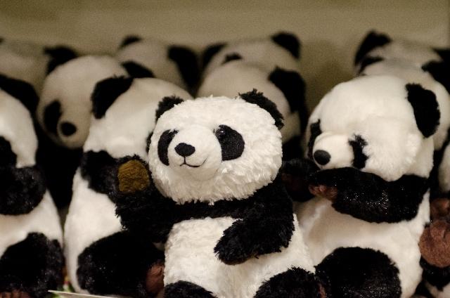 パンダのぬいぐるみ,キャラクター,ぬいぐるみ,人気