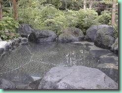 新富士オートキャンプ場の露天風呂,新富士オートキャンプ場,