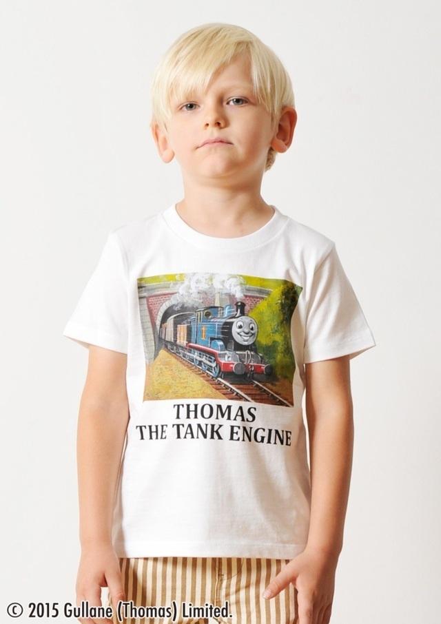 トーマス トンネル ,Tシャツ,グラニフ,親子