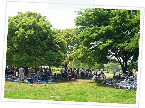 舎人公園バーベキュー,足立区,舎人公園,
