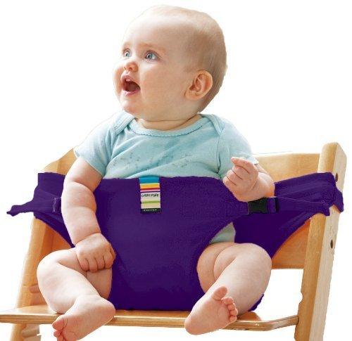 エイテックス キャリフリー チェアベルト パープル 01-069,赤ちゃん,外食,グッズ