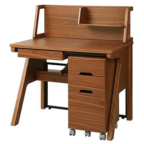 机 デスク テーブル 収納 パソコン 子供 大人 セット 3点セット 幅100cm オシャレ 勉強机 ダークブラウン,小学生,学習机,人気