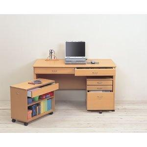 クロシオ システムデスク120 3点セット ナチュラル 25169,小学生,学習机,人気