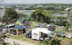 キャンプ場の風景,千葉,キャンプ,