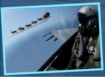NORAD のジェット戦闘機,サンタ,追跡,2015