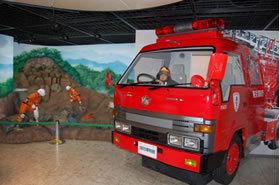 消防士に変身,体験,四谷,消防博物館