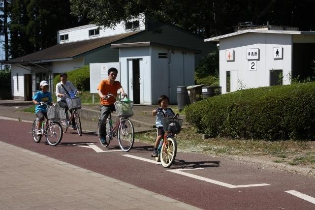 昭和の森のサイクリングコース,千葉市,昭和の森公園,おすすめ