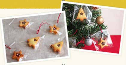 ラッピング例,レシピ,子ども,クリスマス
