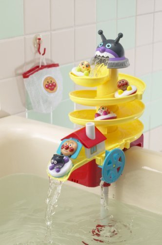 アンパンマン くるくるおふろスライダー,幼児,お風呂,グッズ