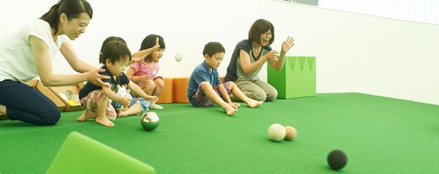 おやっこひろば,日本未来科学館,プラネタリム,親子