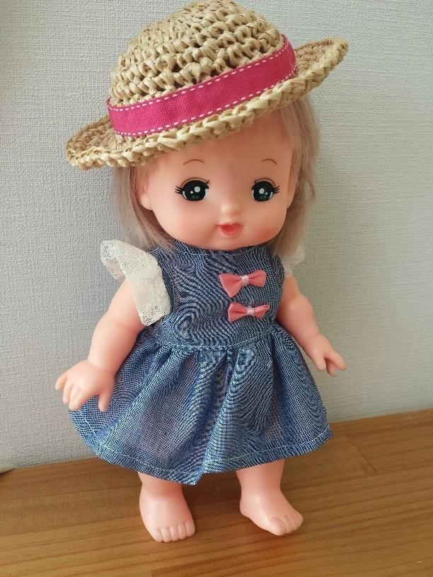 メルちゃんのワンピース【デニム風】 ,メルちゃん,おもちゃ,おすすめ
