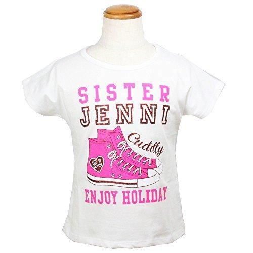 SISTER JENNI(シスタージェニィ) スニーカープリントTシャツ オフホワイト【67883】 (140cm),女の子 ,人気,ファッション