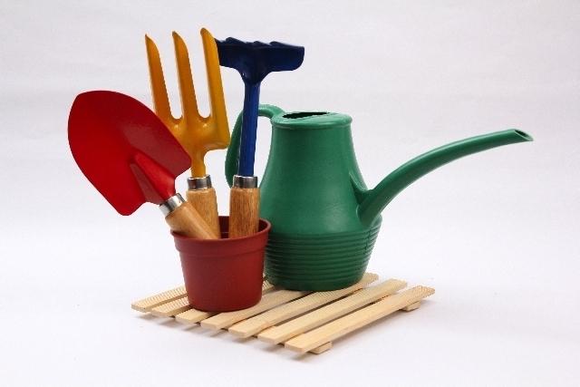 スコップやじょうろ,野菜,栽培,簡単