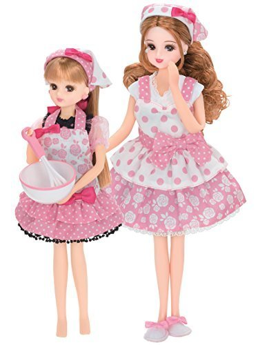 リカちゃん ドレス ママとおそろいドレスセット たのしいクッキング,リカちゃん,人気,いつから